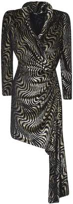 Dodo Bar Or Asymmetric Patterned Dress