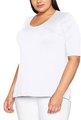c5e982d0f1354 Ulla Popken Women s Plus Size Basic Slim Cut T-Shirt 20 22 658961 20