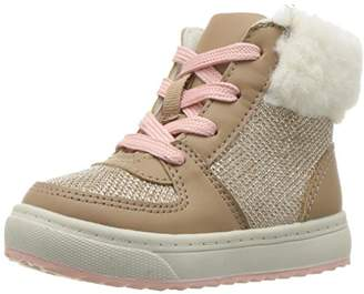 Osh Kosh Girls' Sporty High Top Sherpa Sneaker Fashion Boot