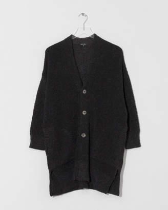 Pas De Calais Black Knit Cardigan
