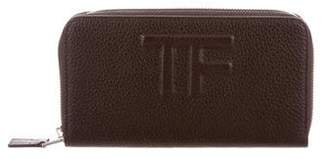 Tom Ford Leather Zip Wallet w/ Tags