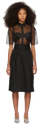 Marc Jacobs Black Denim Skirt