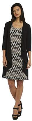 R & M Richards R&M Richards Women's 2 PCE Missy Day to Dinner Jacket Dress