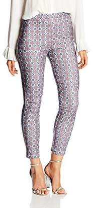 New Look Women's 3736586 Trouser, (White Patterned)