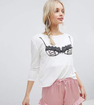 MinkPink Pink Bra Pyjama Set