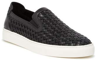 Donald J Pliner Clarke Woven Slip-On Sneaker