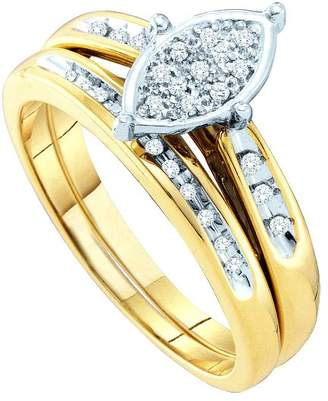 Collection 18 DazzlingRock Collection 1/8 Carat DIAMOND FASHION BRIDAL SET