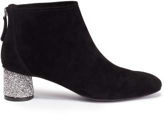 Pedder Red 'Gale' strass heel suede ankle boots
