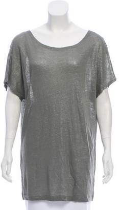 L'Agence Oversize Linen Top