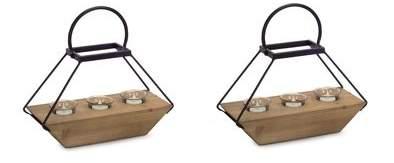 Wayfair Wood/Glass/Metal Lantern