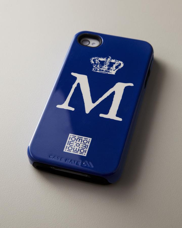 Iomoi Single-Initial iPhone 4/4s & iPhone 5 Cases
