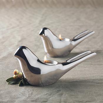 Dove Tealight Holders