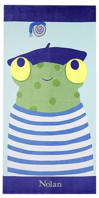 Pottery Barn Kids Nautical French Frog Icon Tote