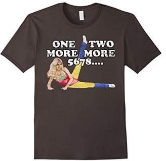 Cool 80th Aerobic Dance Distressed T-Shirt