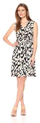 Ellen Tracy Women's Twist Front Dress