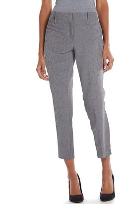 Women's Apt. 9® Modern Fit Slim-Straight Ankle Pants $48 thestylecure.com