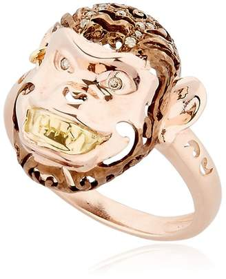 Maki Monkey-Shaped Ring