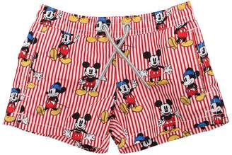 MC2 Saint Barth Disney Mickey Mouse Nylon Swim Shorts