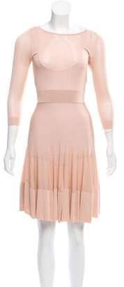 A.L.C. Sheer Midi Dress