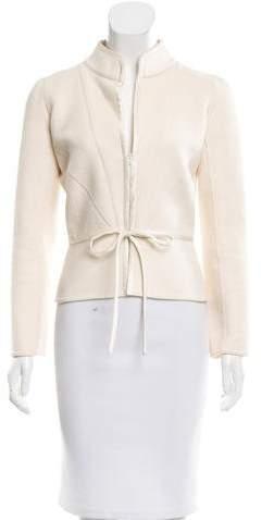 ValentinoValentino Tie-Accented Casual Jacket