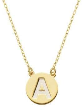 Lord & Taylor Gold Plated Sterling Silver Pendant Necklace