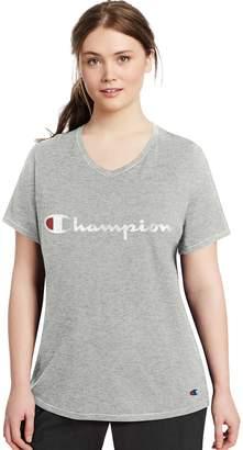 Champion Plus Size Logo Tee