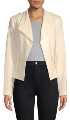 Calvin Klein Turndown Open Front Jacket