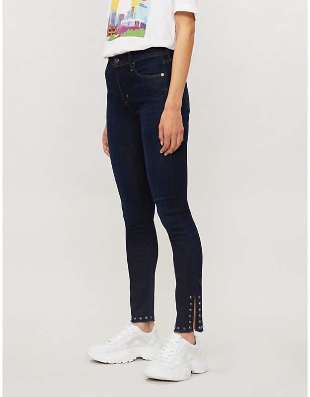 Rocket skinny high-rise jeans