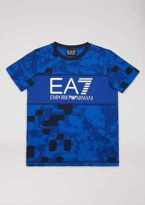 Emporio Armani Ea7 Boys' Camouflage T-Shirt