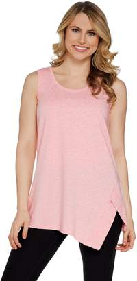 Halston H By H by Donegal Knit U-Neck Sleeveless Tunic