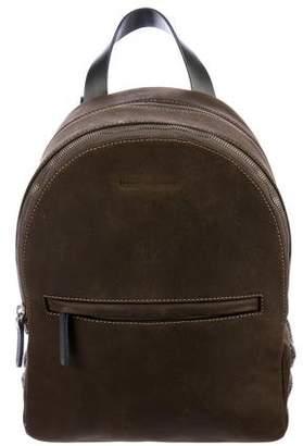 Brunello Cucinelli Embellished Leather Backpack