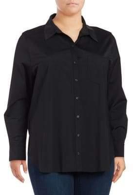 Lysse Plus Schiffer Button-Down Shirt