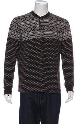 Co RRL & Knit Henley Sweatshirt