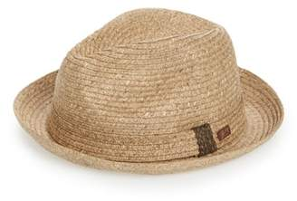 Bailey Frankie Straw Porkpie Hat