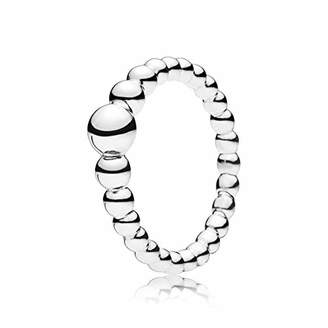 Pandora Women Silver Stacking Ring - 197536-54