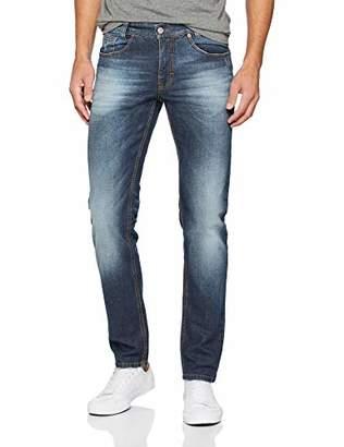 Atelier GARDEUR Men's 470561 Straight Leg Slim Jeans - Blue - W33/L30