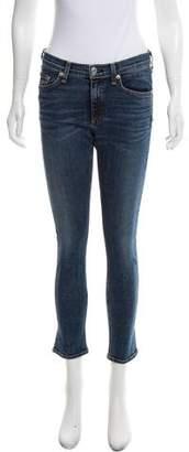 Rag & Bone Capri Mid-Rise Jeans