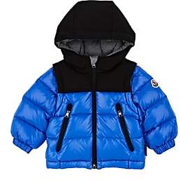 Moncler Infants' Roubaix Down-Quilted Coat - Blue