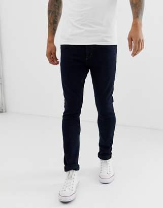 Tiger of Sweden tapered fit denim jeans in dark wash