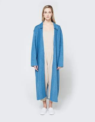 Ashley Rowe Coat in Medium Denim