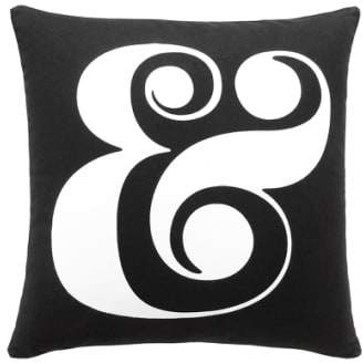 'ampersand' Pillow