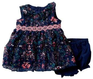 Laura Ashley Printed Lace Dress (Baby Girls 12-24M)