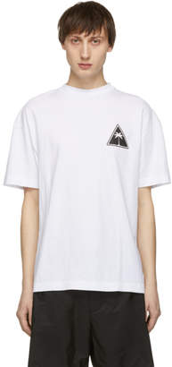 Palm Angels White Palm Icon T-Shirt