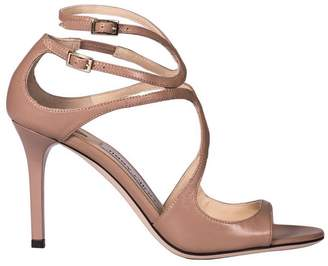 Jimmy Choo Heeled Sandals Sandals Ivette In Genuine Leather With Double Strap