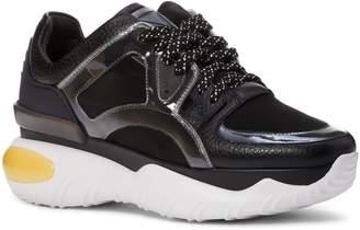 Fendi Fancy Lace-Up Sneaker