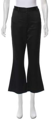 Frame Wide-Leg Satin Pants