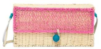 Sophie Anderson Romina Woven Straw Crossbody Bag