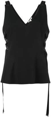 Jonathan Simkhai sleeveless peplum top