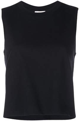 Vince cropped tank top