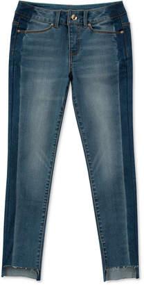 Calvin Klein Big Girls Side Stripe Skinny Jeans